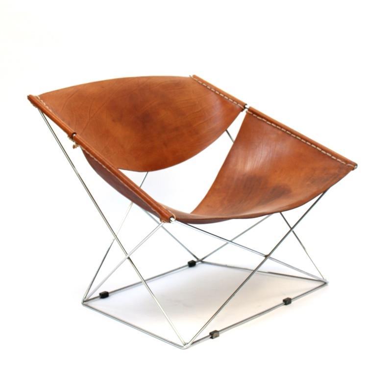 galerie alexandre guillemain artefact design pierre paulin butterfly chair model f675. Black Bedroom Furniture Sets. Home Design Ideas