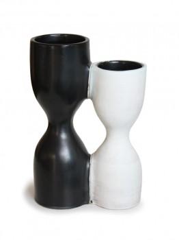 Double diabolo vase