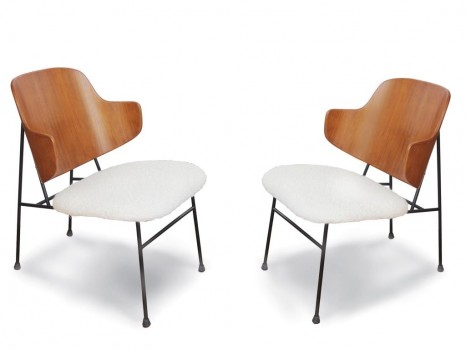 Pair of Penguin lounge chairs