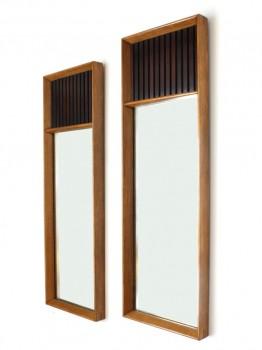 Pair of wall mirrors