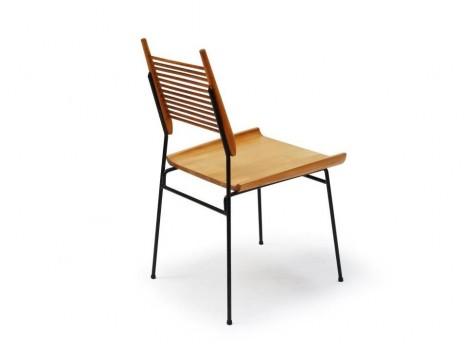 Set of 8 shovel chairs