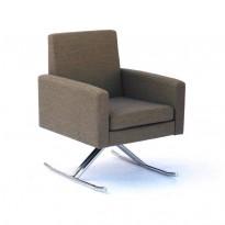 Suite de 6 fauteuils Luge