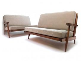 Paire de canapés Cushion