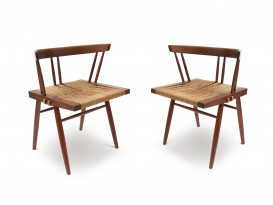 Pair of Seagrass chairs
