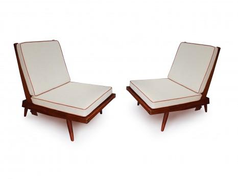 Pair of Cushion chairs