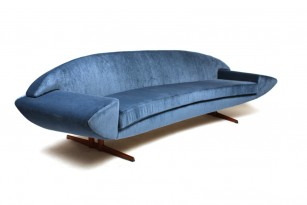 Three-seat Capri sofa