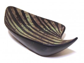 Leaf ceramic bowl