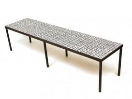 Long ceramic low table