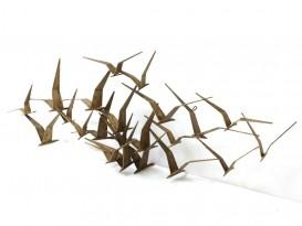 Wall sculpture - The Birds