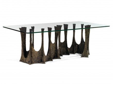 Stalagmite dining table