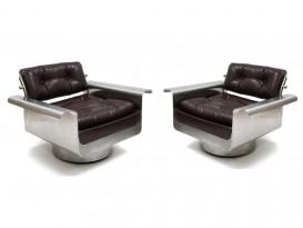 Paire de fauteuils Douglas
