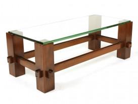 Table basse en verre modèle 2461