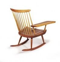 Rocking chair free edge
