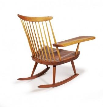 Rocking-chair free edge