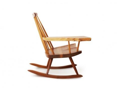 Rocking chair free edge