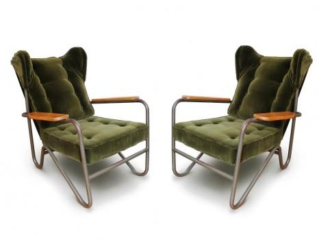 Paire de fauteuils Prefacto
