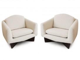Paire de fauteuils Monaco