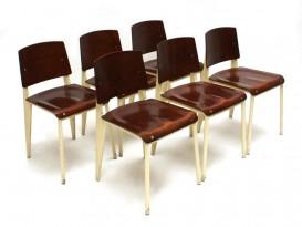 6 Serie n°4 chairs