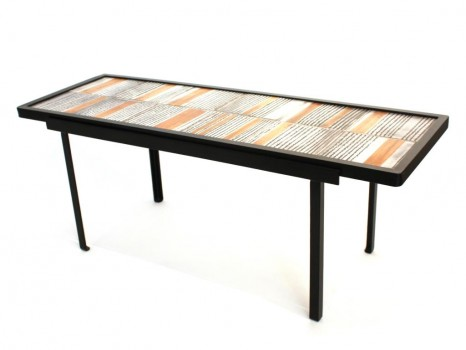 Ceramic low table