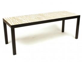 Rare ceramic low table