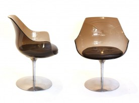 4 Champagne chairs