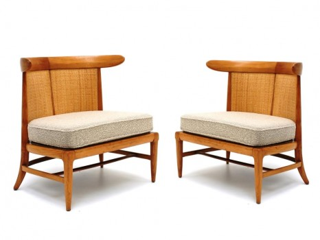 Pair of low chairs