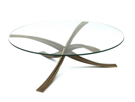Table basse circulaire