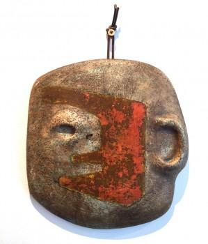 Masque en céramique / Profil