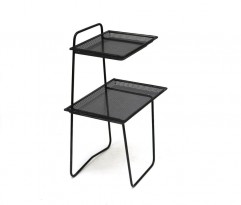 Black occasional table