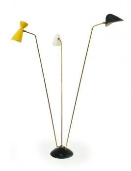 3 arms floor lamp