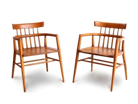 Pair of Planner group chair