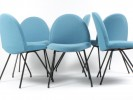 6 tongue chairs model 770