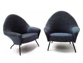 Paire de fauteuils 770