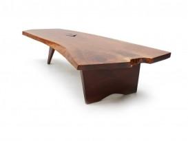 Table basse Slab free edge