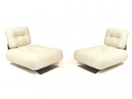 Pair of ON1 Brazilia low chairs