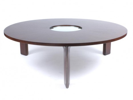Saturn ring pedestal table