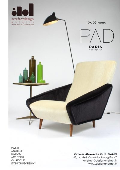 Salon PAD Paris > 26 au 29 mars 2015