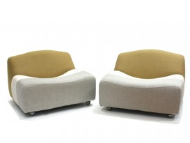 Pair of ABCD armchairs