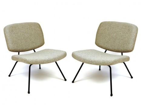 Pair of low chairs model CM190