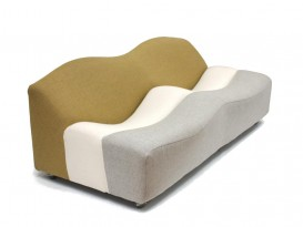 Two-seat ABCD sofa