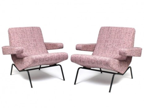 Pair of CM194 armchairs