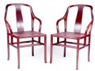 A pair of Prestige chairs