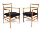 Pair of Leggera armchairs