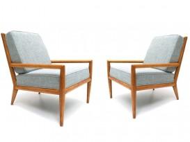 Paire de fauteuils Lounge