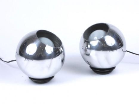 Paire de lampes modèle 586