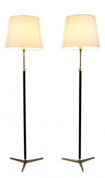 Paire de lampadaires modèle 1025