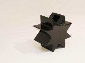Black HSING vase