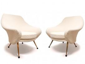 Paire de fauteuils modèle Martingale